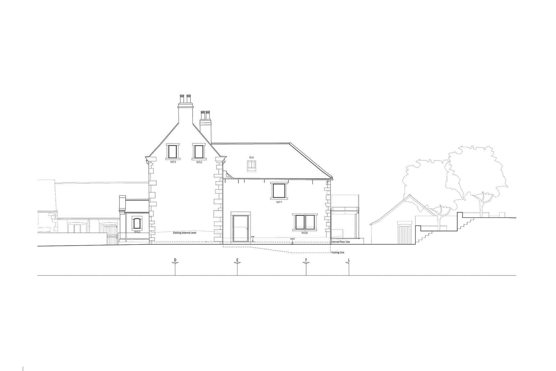 Hall Farm, Sookholme - Elevation 1