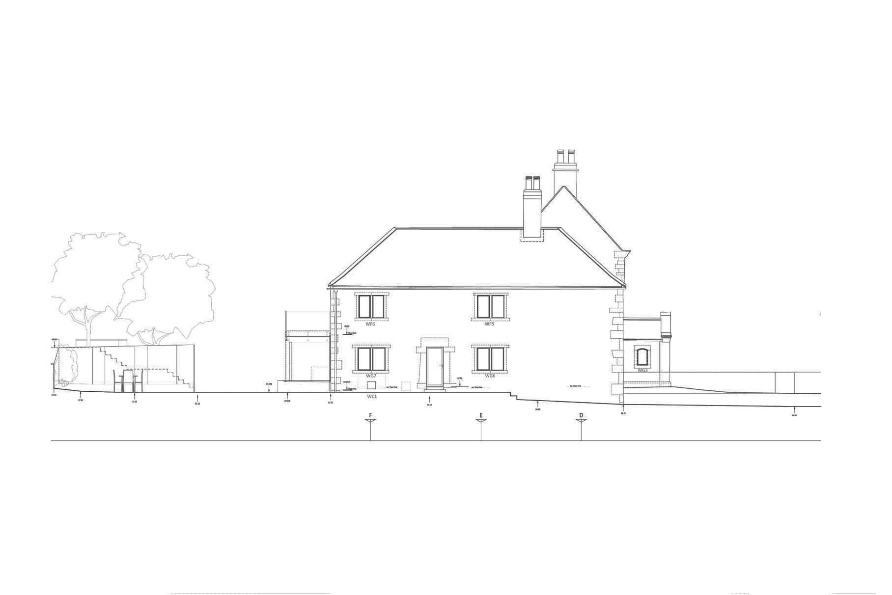 Hall Farm, Sookholme - Elevation 2