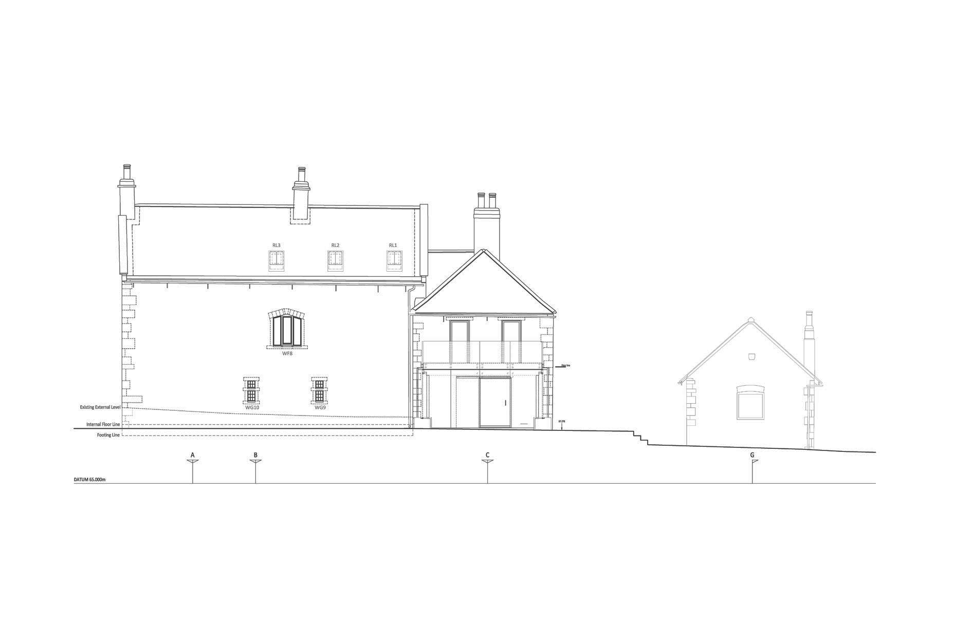 Hall Farm, Sookholme - Elevation 3