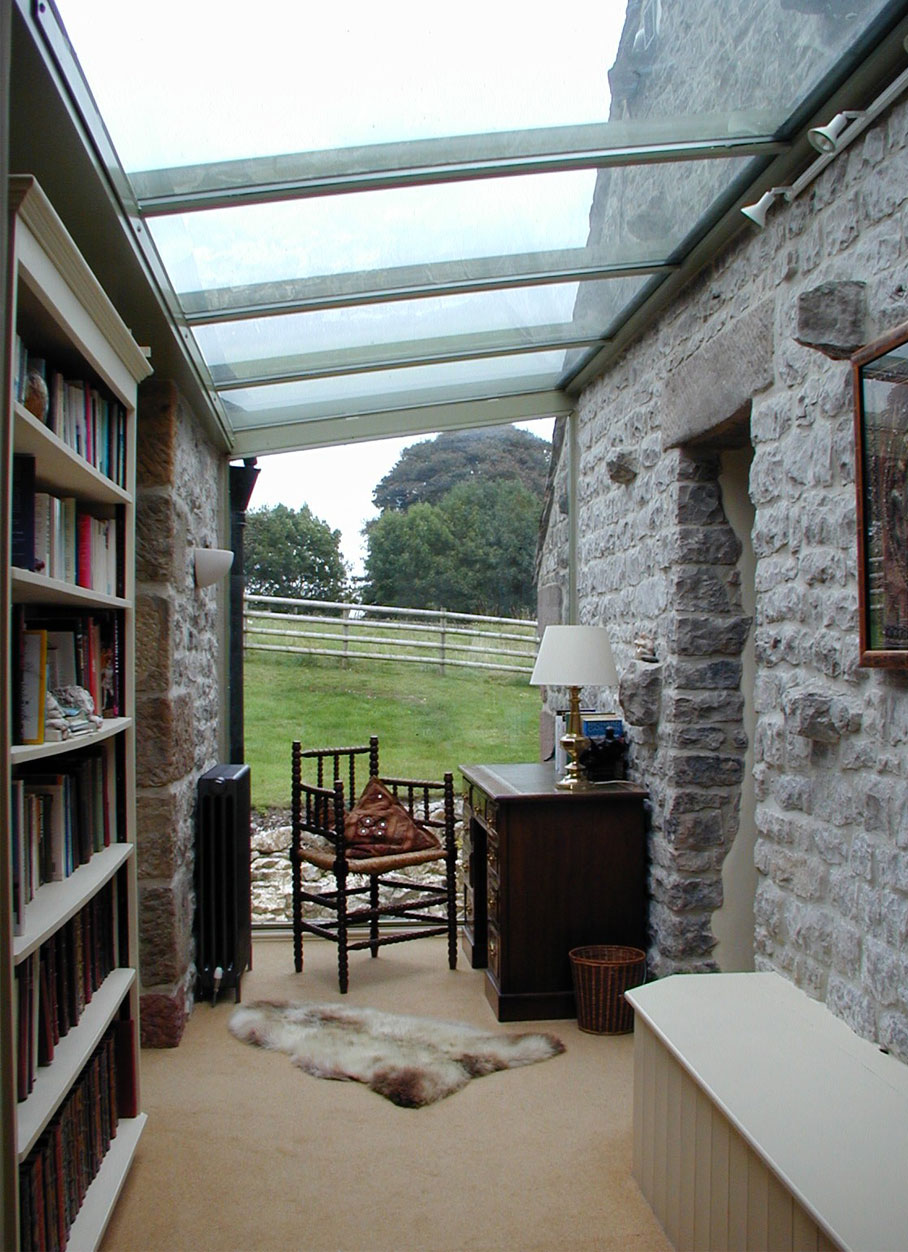 The Old Farm House - Library