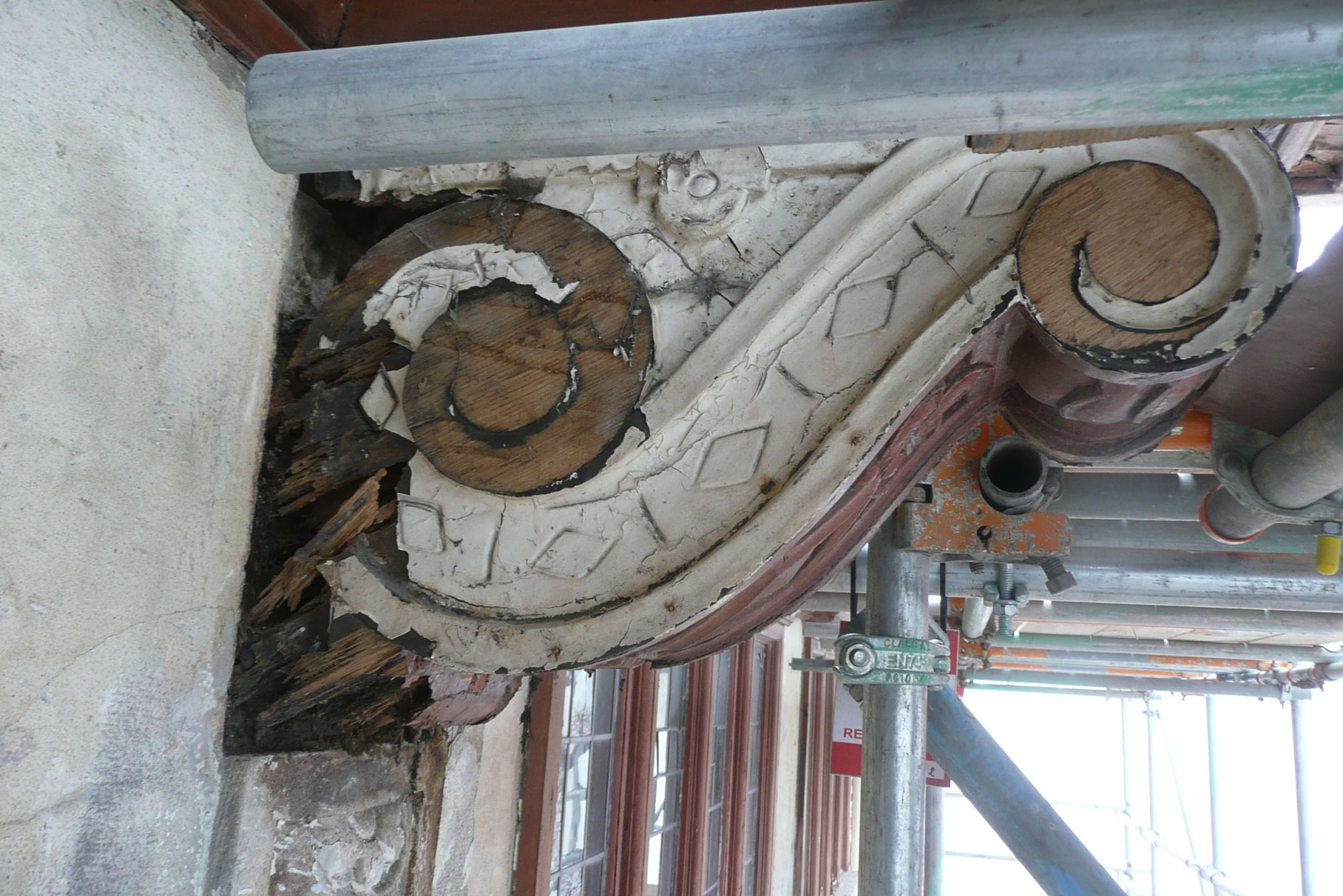 45 St Peter's Street - Derby - Corbel before works L2