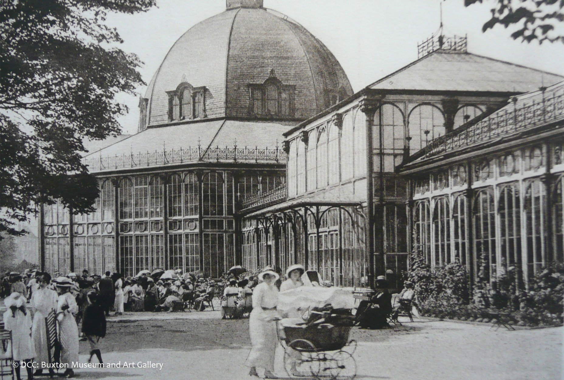 The Octagon - Pavilion Gardens - Historic L2