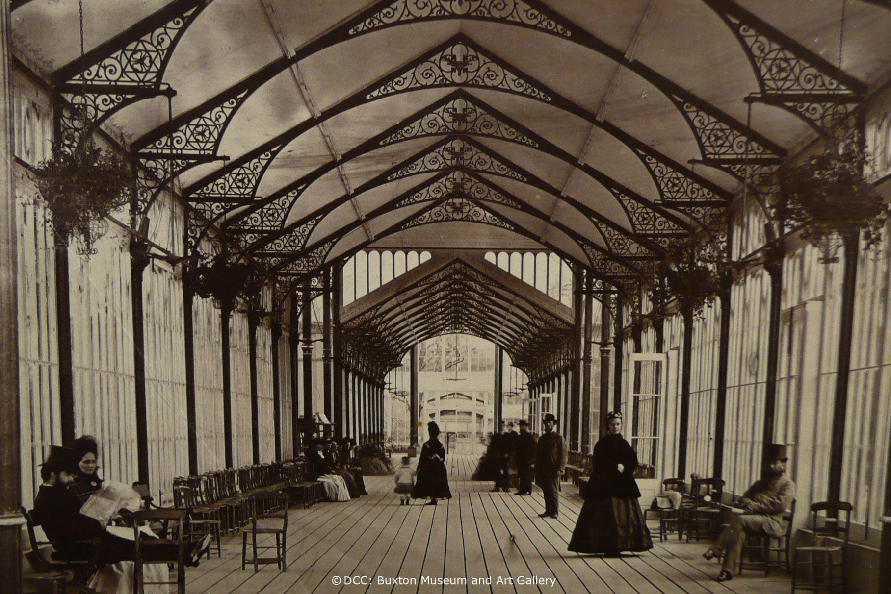 The Octagon - Pavilion Gardens - West Pavilion historic L14