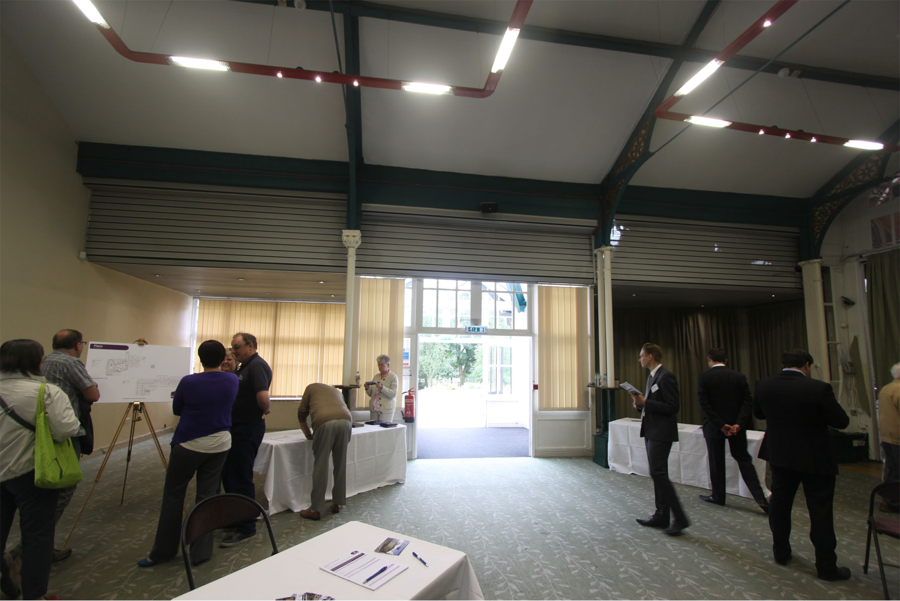 The Octagon - Pavilion Gardens - Reception South before works L9