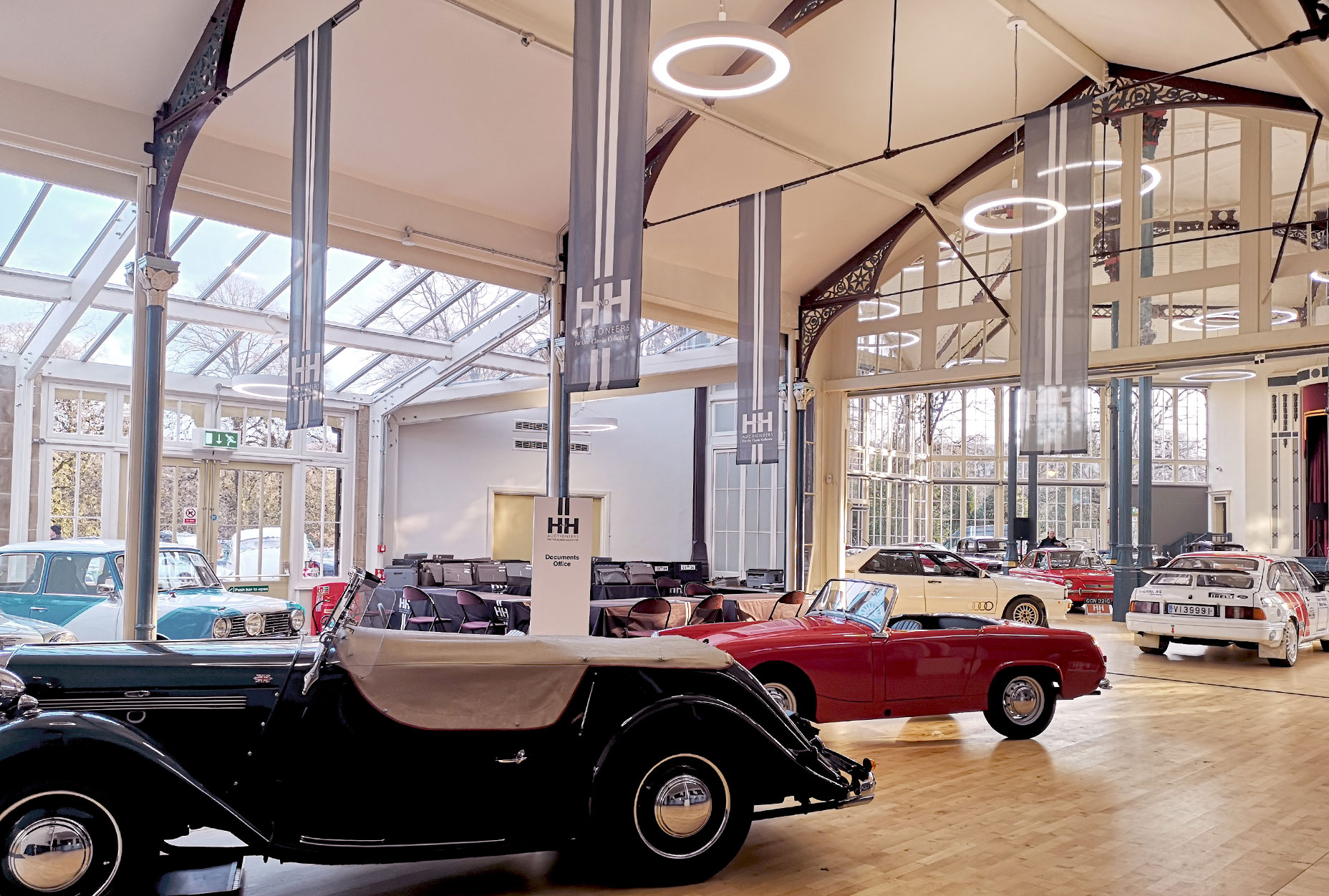 The Octagon - Pavilion Gardens - Reception - Car auction event L9