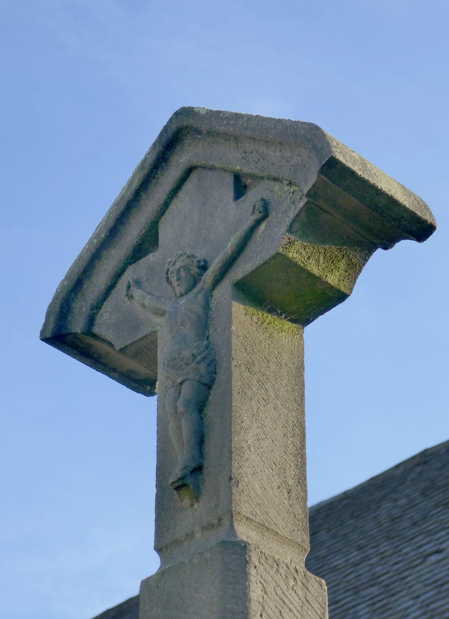 St. Mary's Church - Cross Detail