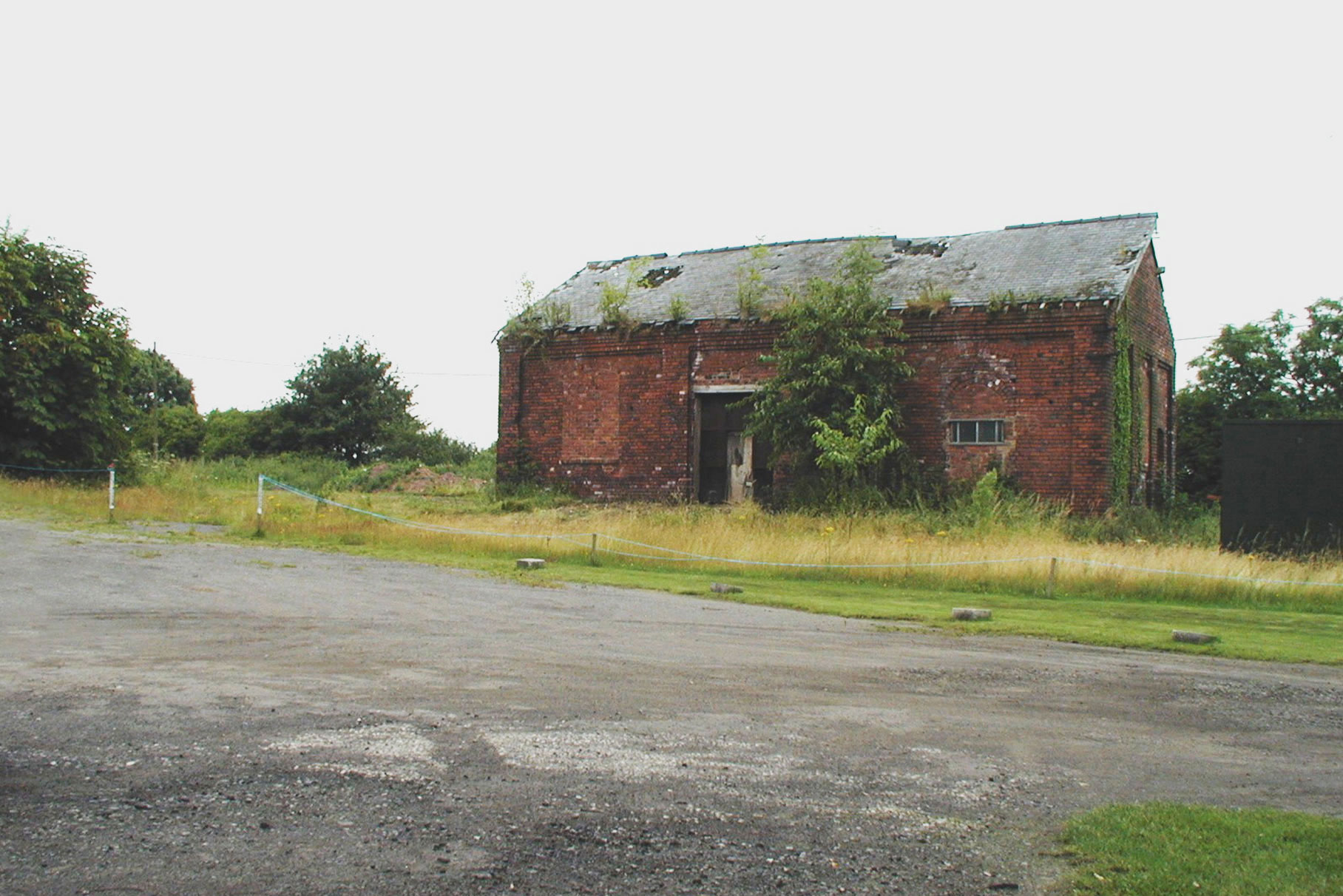 Barlborough No.2-Colliery - Before works L1
