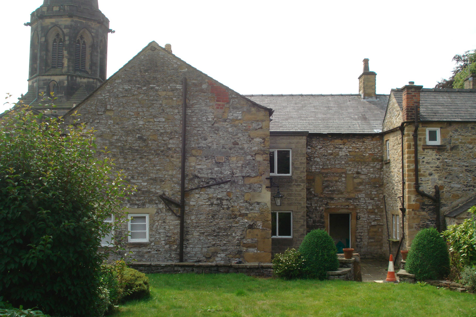 Chantry House - Bakewell - North elevation before construction L4
