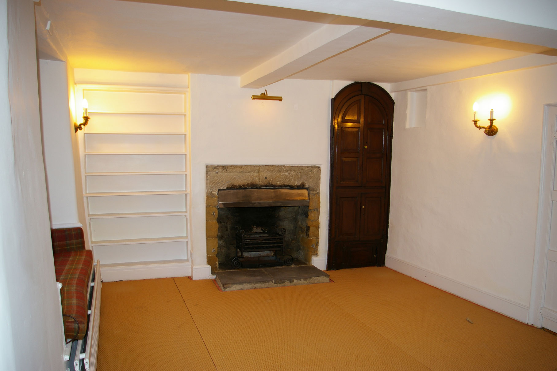 Chantry House - Bakewell - Snug room before construction L6