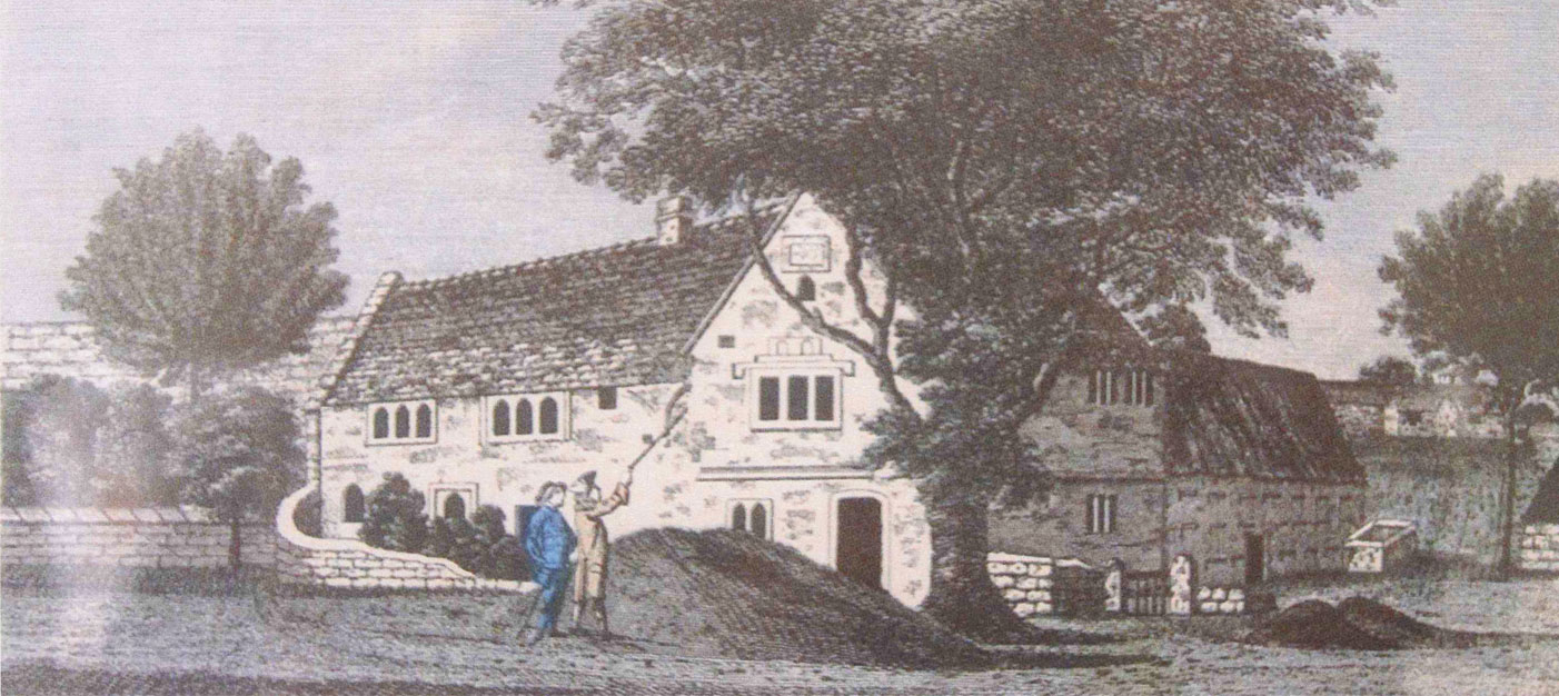 Chantry House - Bakewell - Historic image 1781  L8