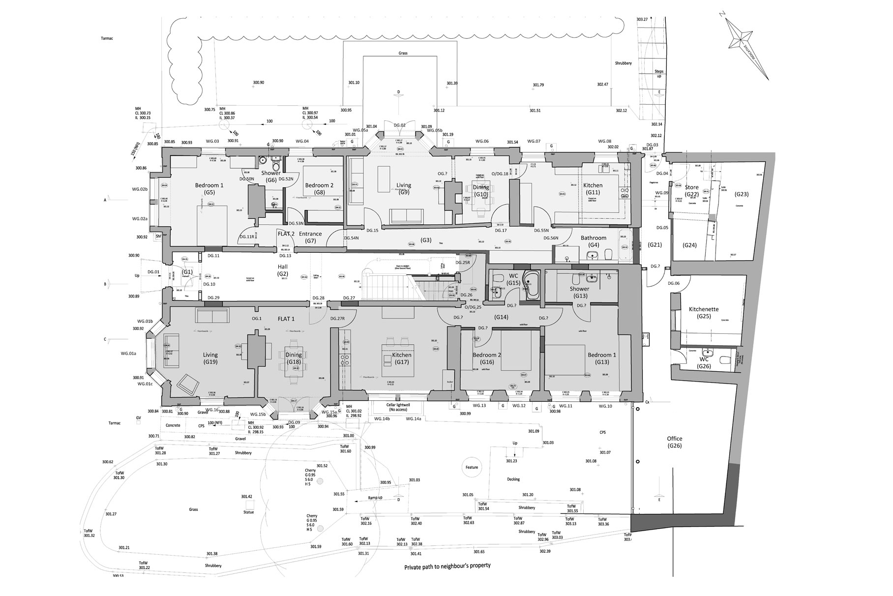 Derby House - Plan