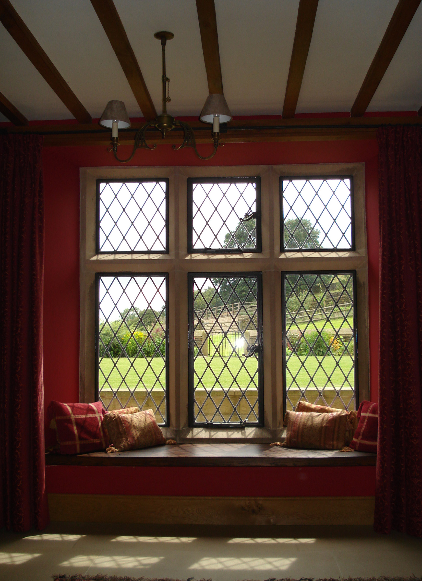Offerton Hall - window interior