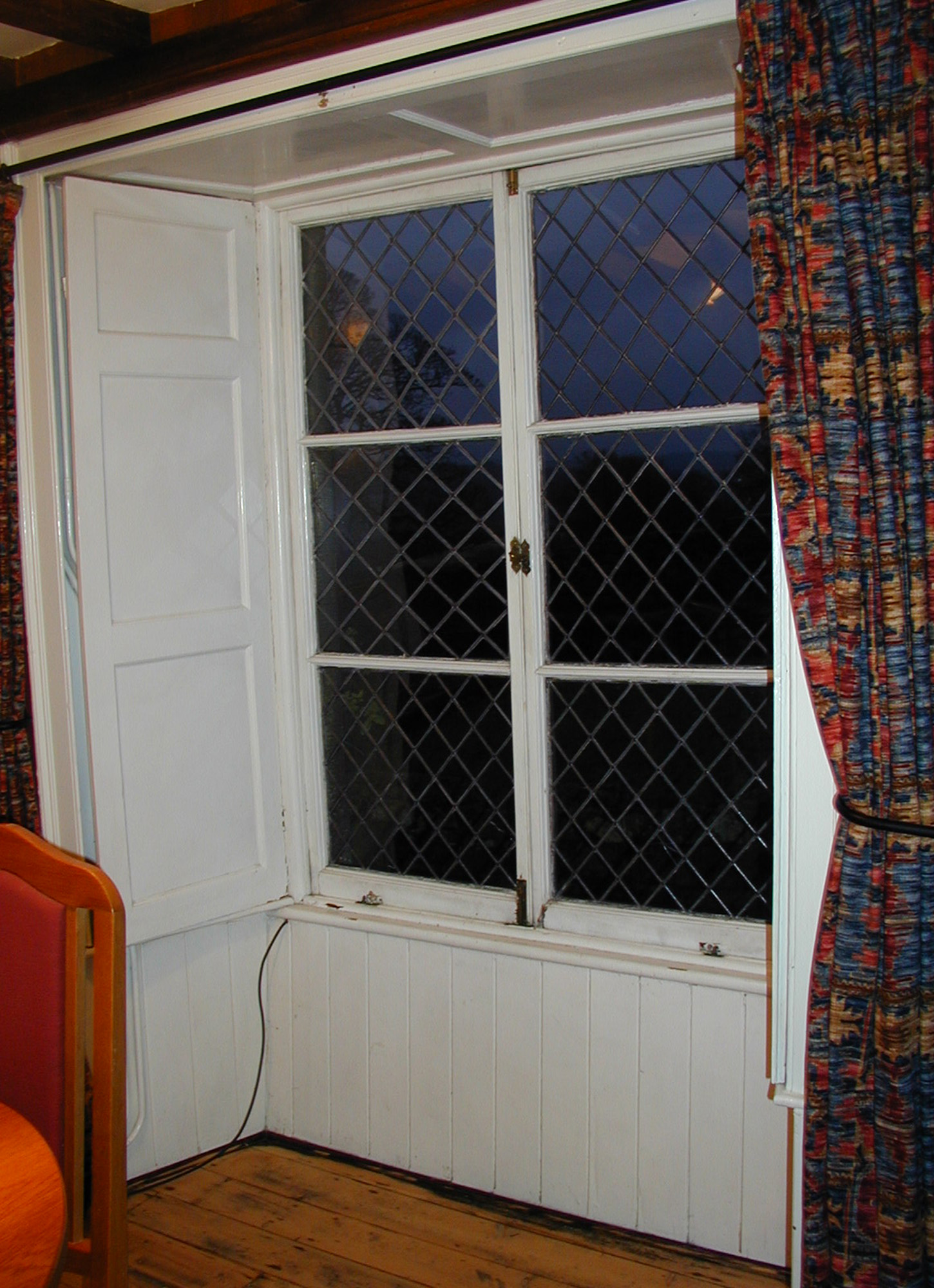 Offerton Hall - window interior - before